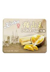 Kioki Durian Egg Rolls 300g