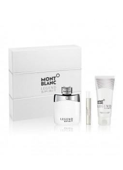 Mont Blanc Legend Spirit EDT 100ml+7.5ml + After Shave Balm 100ml Set