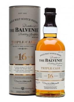 The Balvenie 百富16年單一麥芽威士忌 精釀三桶系列 1L