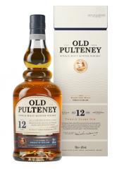 Old Pulteney 12YO Single Malt Scotch Whisky 70CL