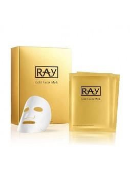 RAY Gold Facial Mask 10s