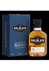 Balblair 15YO Single Malt Scotch Whisky 70CL