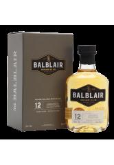 Balblair 12YO Single Malt Scotch Whisky 70CL