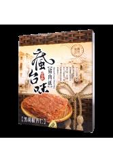 瘋台味-黑胡椒杏仁脆豬肉紙 75g