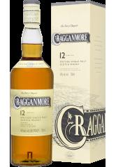 Cragganmore 12YO Single Malt Scotch Whisky 70CL